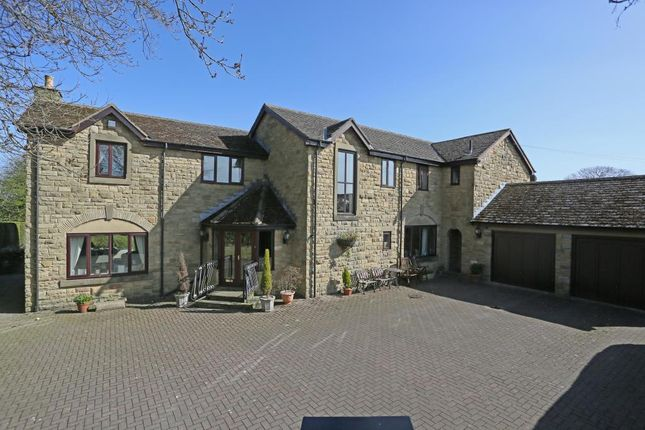 Thumbnail Detached house for sale in Manndalin, Harrogate View, Off Shadwell Lane, Leeds, West Yorkshire