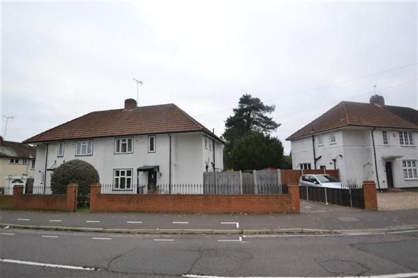 Thumbnail Semi-detached house for sale in Castle Way, Feltham