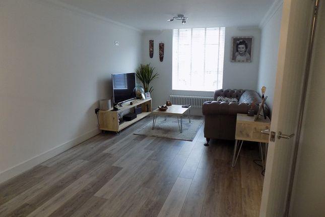 Lounge of Clarence Street, Ton Pentre, Pentre, Rhondda Cynon Taff. CF41