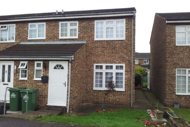 Thumbnail End terrace house for sale in Marsh Close, Waltham Cross