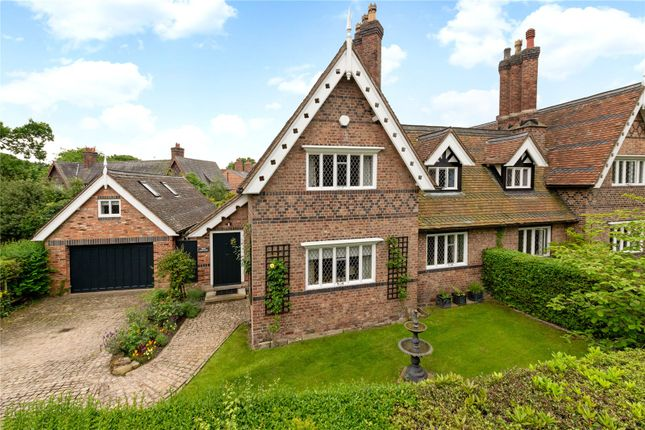 4 bed semi-detached house for sale in Altrincham Road, Styal, Wilmslow, Cheshire SK9