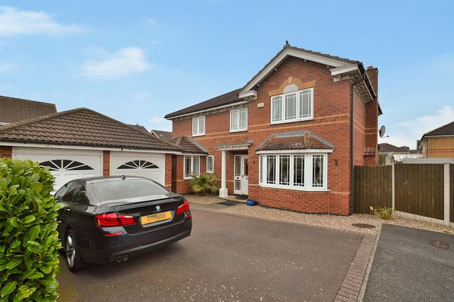 Thumbnail Detached house for sale in Rochester Close, Long Eaton, Nottingham