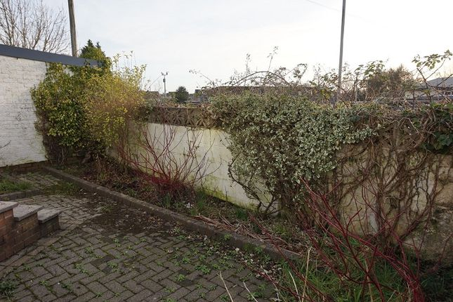 Rear Garden of Heol-Y-Groes, Litchard, Bridgend, Bridgend County. CF31