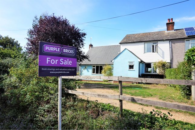 Thumbnail Semi-detached house for sale in Hillcrest Cottages, Colchester