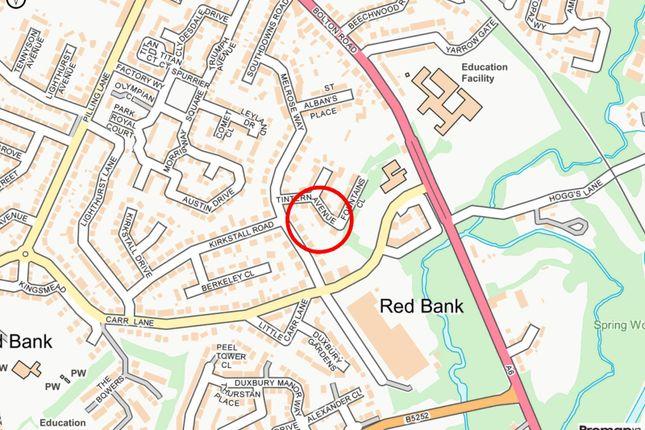 Local Map of Tintern Avenue, Chorley, Lancashire PR7