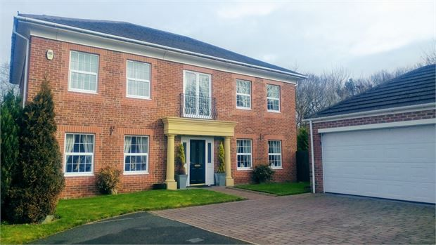 Thumbnail Detached house for sale in Duxbury Park, Fatfield, Washington, Tyne & Wear.