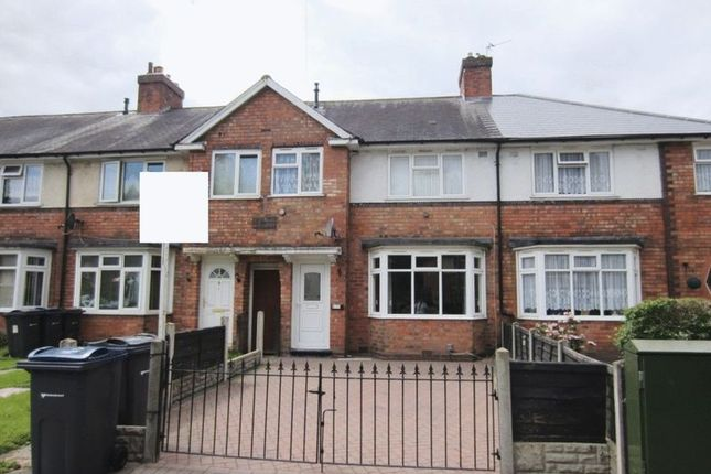 Thumbnail Terraced house to rent in Finchley Road, Kingstanding, Birmingham