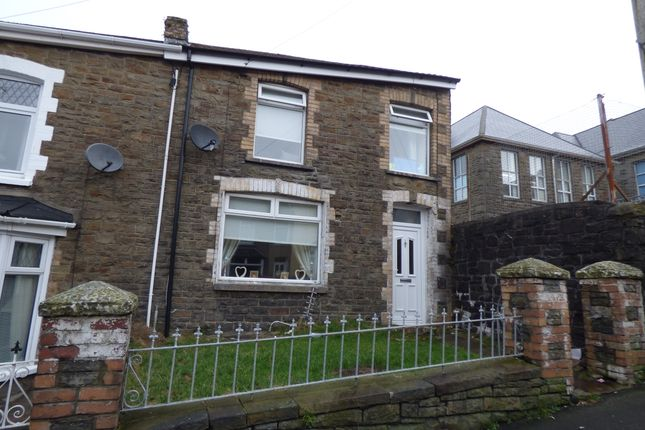 Thumbnail End terrace house for sale in Ivor Street, Pontycymmer