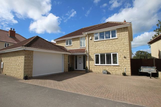 Thumbnail Detached house for sale in Oxenpill, Meare, Glastonbury