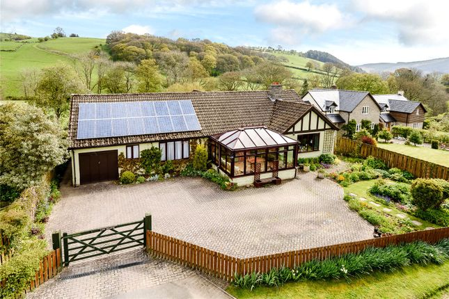 Thumbnail Bungalow for sale in Bleddfa, Knighton, Powys