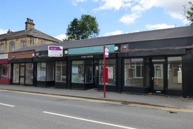 Retail premises to let in Market Street, Heckmondwike