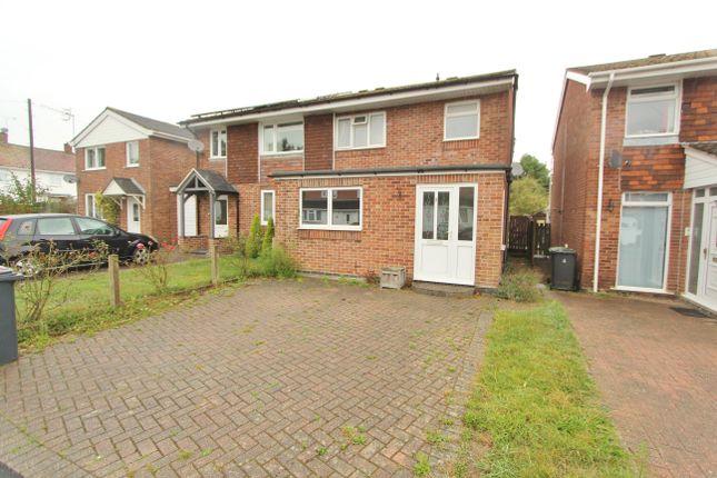 Thumbnail Semi-detached house to rent in Navigators Way, Hedge End, Southampton