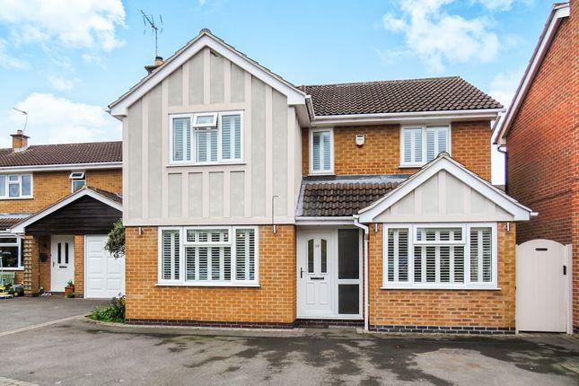 Thumbnail Detached house for sale in Faires Close, Borrowash, Derby
