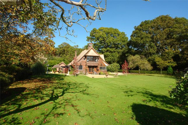 Thumbnail Detached house for sale in The Avenue, Bucklebury, Reading, Berkshire