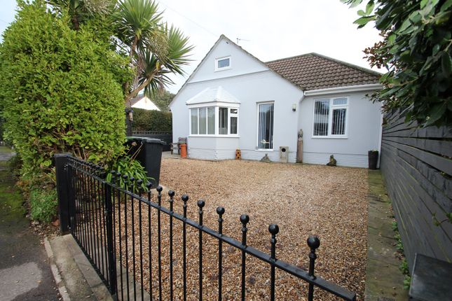Thumbnail Detached bungalow for sale in Priors Close, Friars Cliff, Christchurch