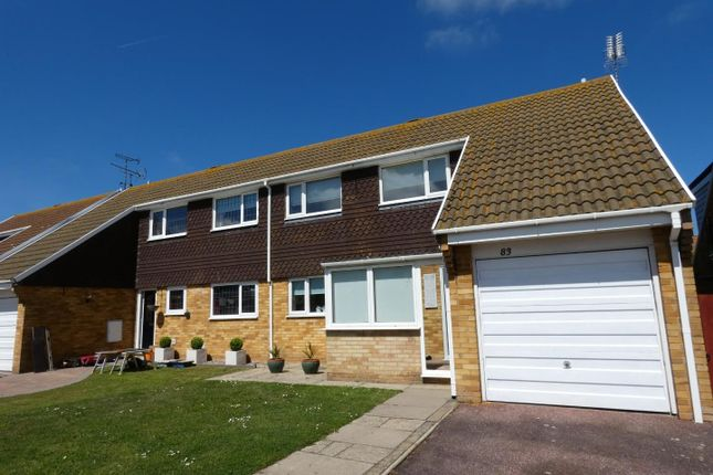 Thumbnail Semi-detached house to rent in Knockholt Road, Cliftonville, Margate