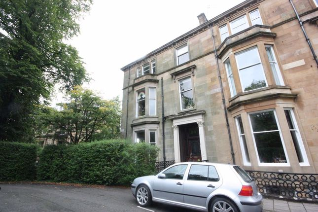 Thumbnail Barn conversion to rent in Garden Flat, 20 Huntly Gardens, Glasgow