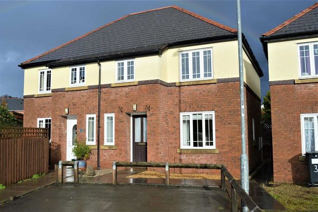 Thumbnail Semi-detached house to rent in 2, Gerddi Glandwr, Vaynor, Newtown, Powys