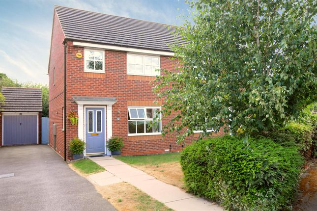Thumbnail Semi-detached house for sale in Corydalis Close, Loughborough
