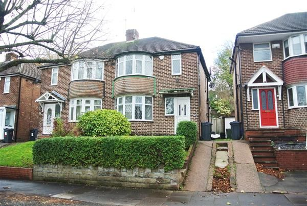 Thumbnail Semi-detached house for sale in Burnham Road, Great Barr, Birmingham