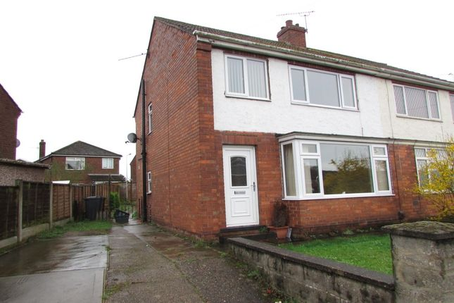 Thumbnail Semi-detached house to rent in Middleton Road, Scunthorpe