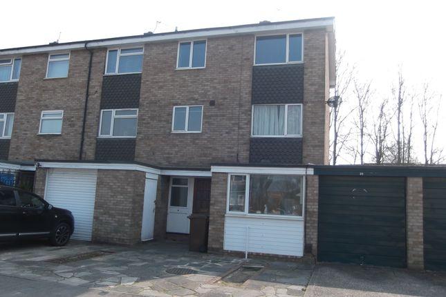 Thumbnail Terraced house to rent in De Havilland Close, Hatfield