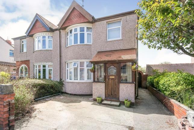 Thumbnail Semi-detached house for sale in Ffordd Pendyffryn, Prestatyn, Denbighshire, North Wales