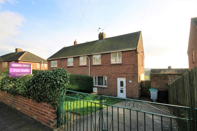 Thumbnail Semi-detached house for sale in Deneside, Lanchester