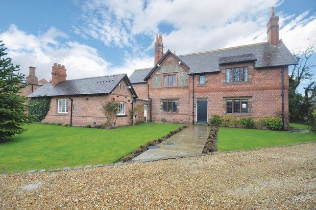Thumbnail Detached house for sale in Wrexham Road, Pulford, Chester