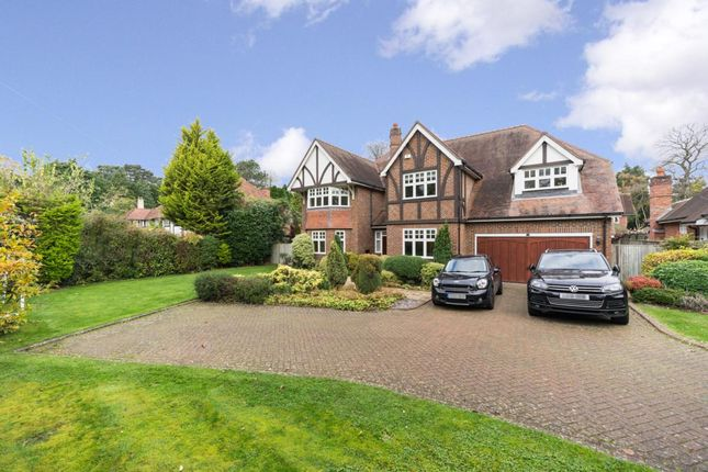 Thumbnail Detached house to rent in Hill Close, Cobham