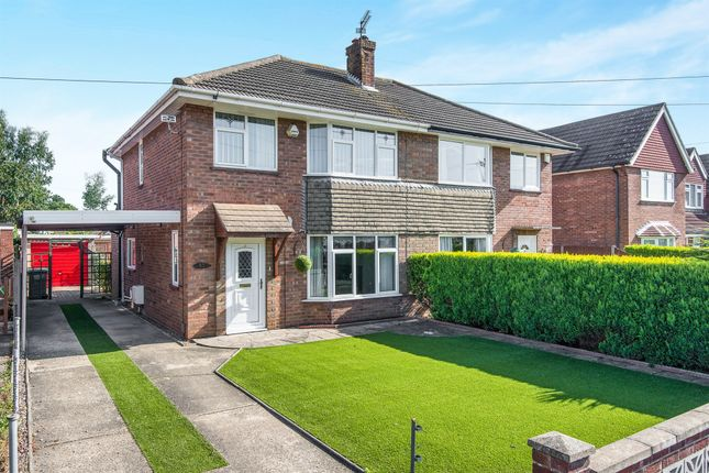 Thumbnail Semi-detached house for sale in Foxburrow Road, Sprowston, Norwich