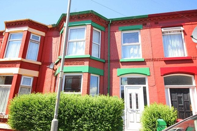Thumbnail Terraced house for sale in Woodcroft Road, Wavertree, Liverpool