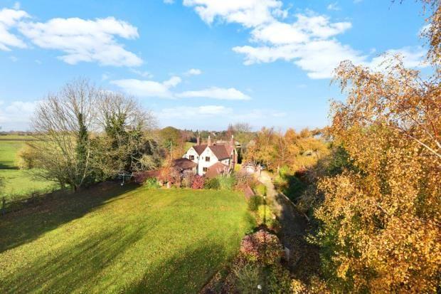 Thumbnail Detached house for sale in Farm Town Lane, Coleorton, Coalville