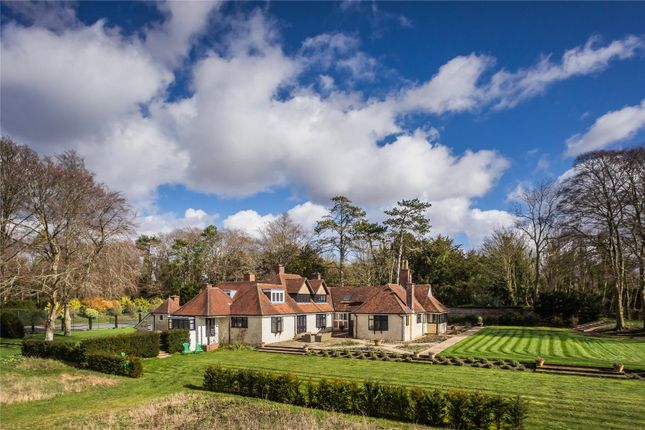Thumbnail Detached house for sale in Stockbridge, Hampshire
