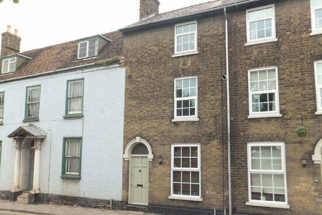 Thumbnail Terraced house to rent in Ermine Street, Huntingdon