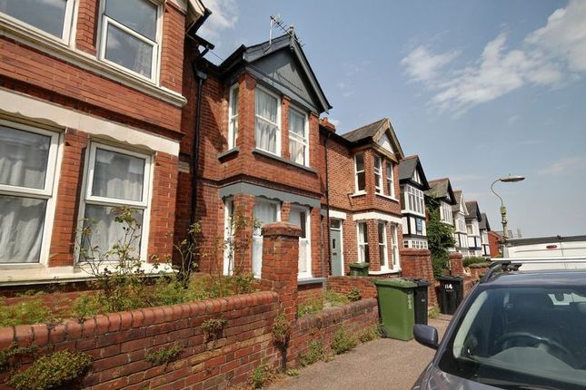 Thumbnail Terraced house to rent in Monks Road, Exeter