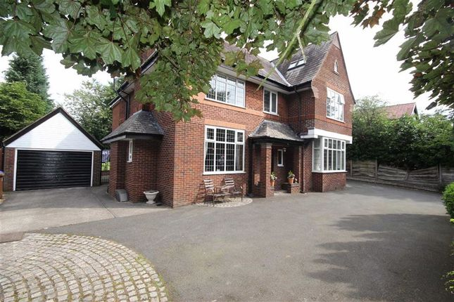 Thumbnail Detached house for sale in Leigh Road, Worsley, Manchester