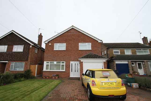 Thumbnail Detached house to rent in Braemar Close, Chester, Cheshire