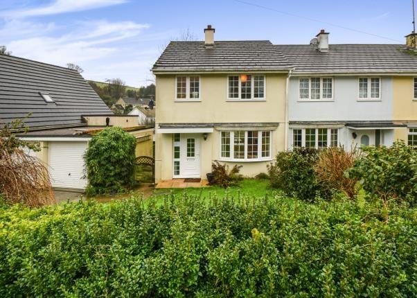 Thumbnail Semi-detached house for sale in Cornworthy, Totnes