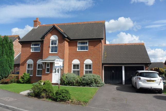 Thumbnail Detached house to rent in Arden Close, Bradley Stoke, Bristol