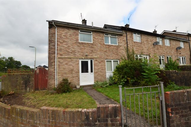 Thumbnail End terrace house for sale in Fanheulog, Talbot Green, Pontyclun