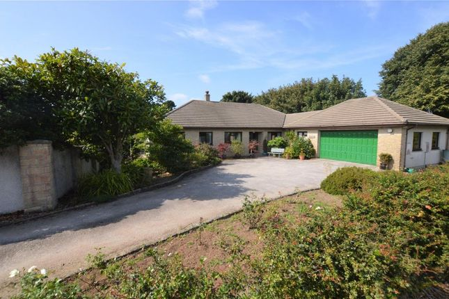 Thumbnail Detached bungalow for sale in Lowenac Gardens, Camborne, Cornwall
