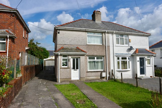 Thumbnail Semi-detached house for sale in Brondeg, Heolgerrig, Merthyr Tydfil