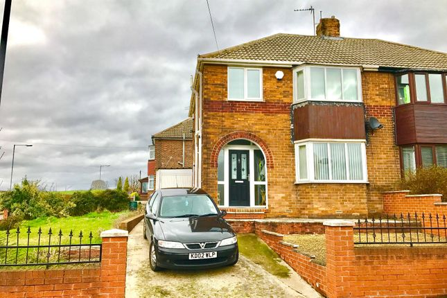 Thumbnail Semi-detached house to rent in Clayton Avenue, Thurnscoe