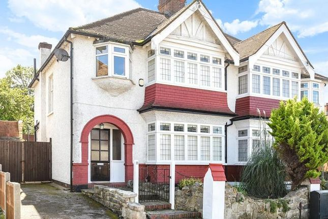 Thumbnail Semi-detached house for sale in Oaks Avenue, London