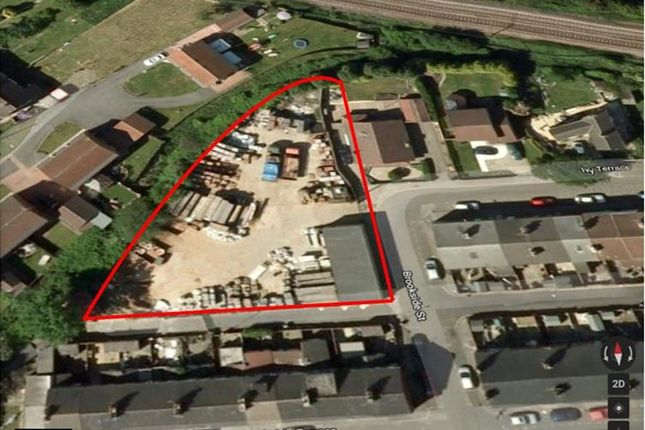 Thumbnail Land for sale in Brookside Street, South Elmsall, Pontefract