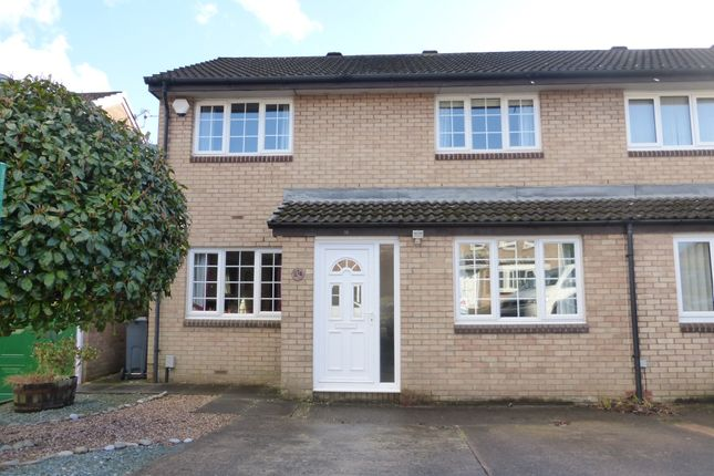 Thumbnail Semi-detached house for sale in Kingfisher Close, St. Mellons, Cardiff