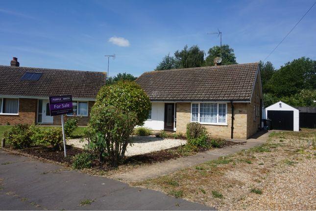 Thumbnail Detached bungalow for sale in Elmfield Drive, Wisbech