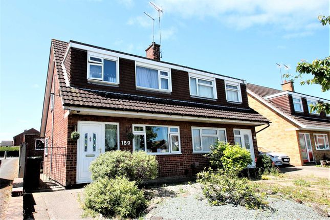 Thumbnail Semi-detached house for sale in Grangeway, Rushden