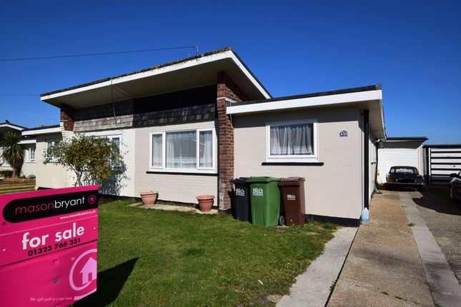 Thumbnail Semi-detached bungalow for sale in Sunset Close, Pevensey Bay